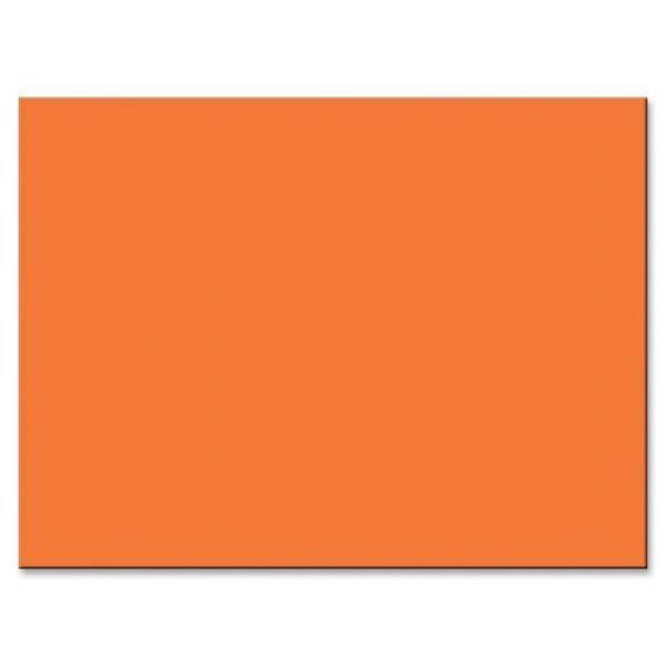 Tru-Ray Sulphite Orange Construction Paper
