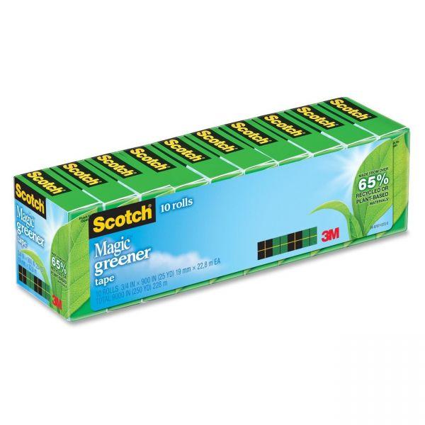 "Scotch 3/4"" Magic Greener Invisible Tape Refills"