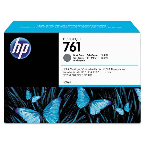 HP 761, (CM996A) Dark Gray Original Ink Cartridge