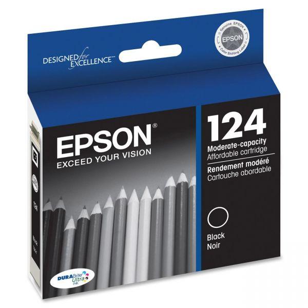 Epson 124 Black Ink Cartridge (T124120)
