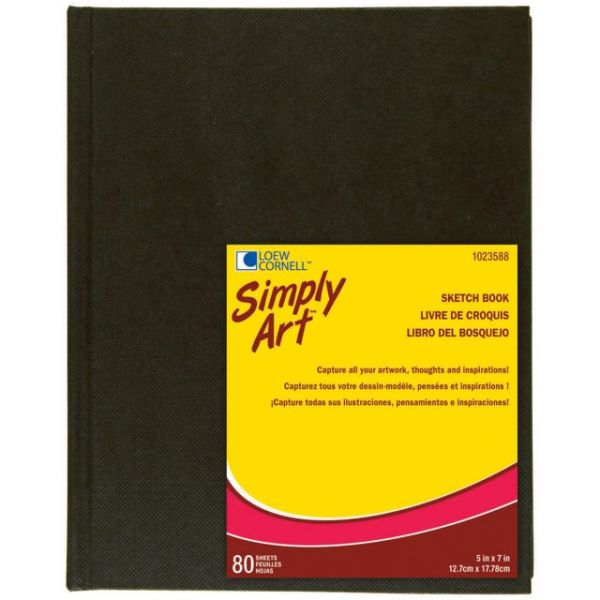 "Simply Art Sketch Book 5.25""X7.25"""