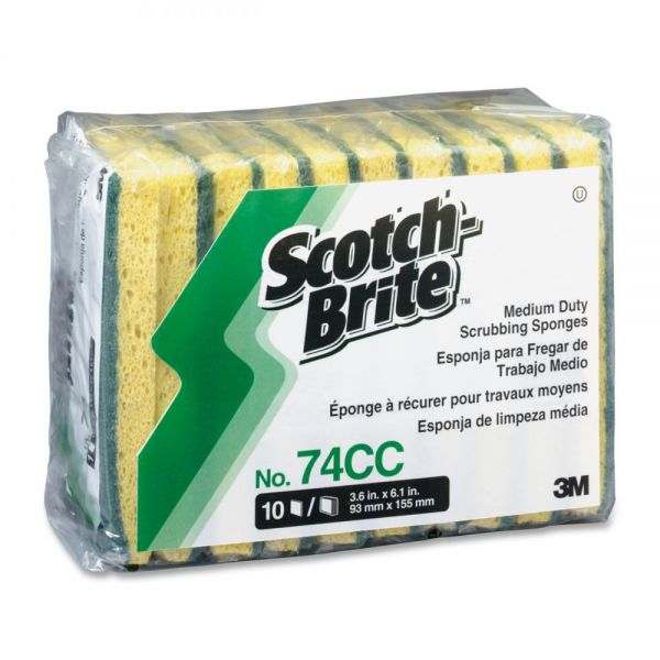 Scotch-Brite Medium Duty Scrub Sponges
