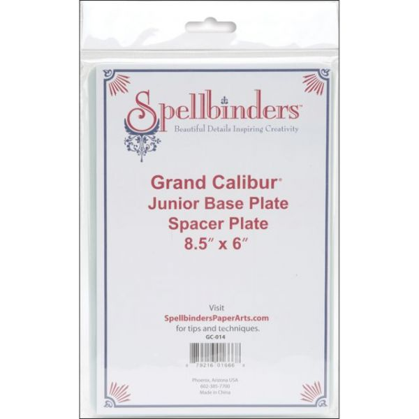 "Spellbinders Grand Calibur Junior Base Plate A 8.5""X6"""