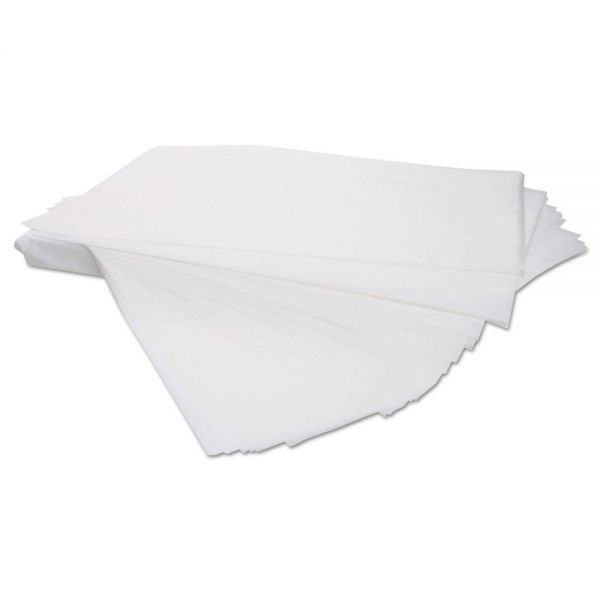 "General Supply Newspaper-Grade Paper Sheets, Uncoated, 60lb, 24"" x 36"", White, 800 Sheets/Box"