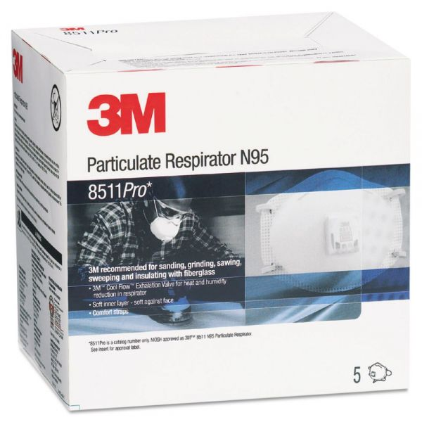 3M 8511PRO N95 Particulate Respirator