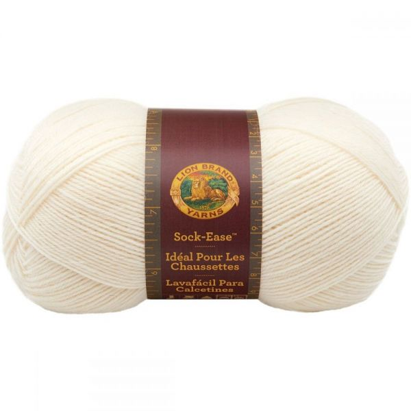 Lion Brand Sock-Ease Yarn - Marshmallow