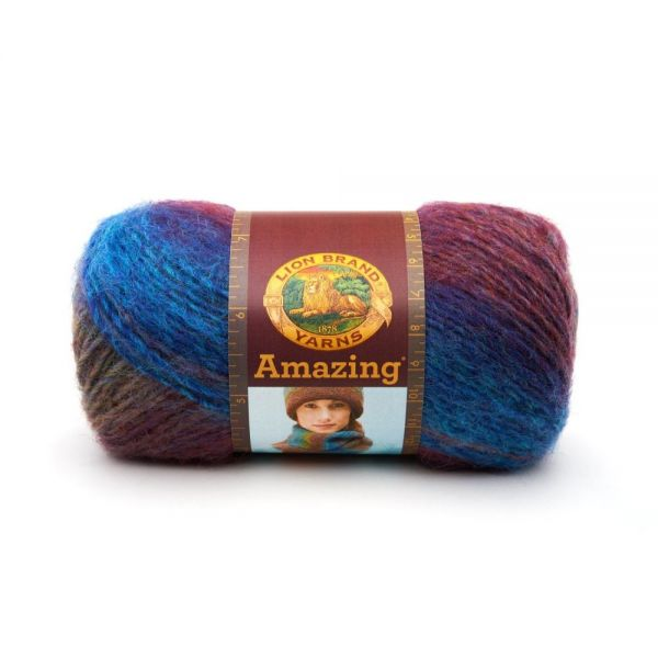 Lion Brand Amazing Yarn - Glacier Bay