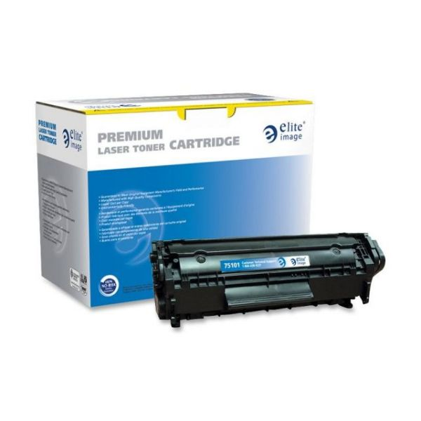Elite Image Remanufactured HP Q2612A Toner Cartridge