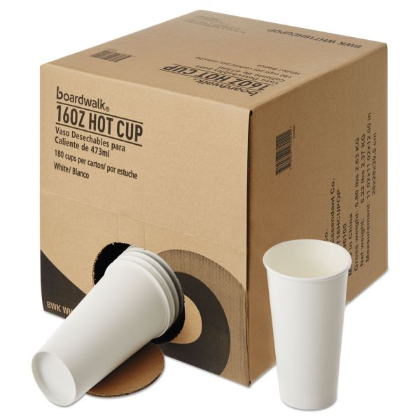 Boardwalk Convenience Pack 16 oz Paper Coffee Cups
