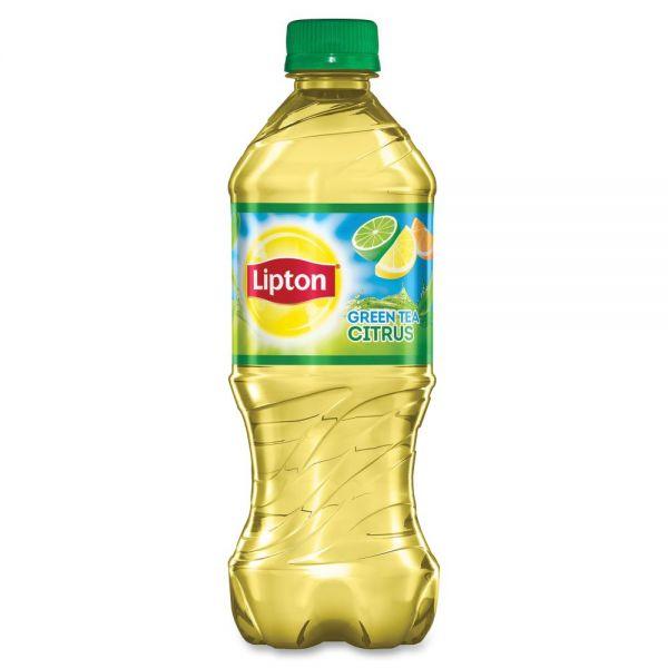Lipton Citrus Green Tea Bottles