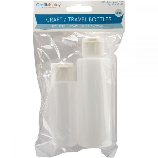 Craft/Travel Bottles 2/Pkg