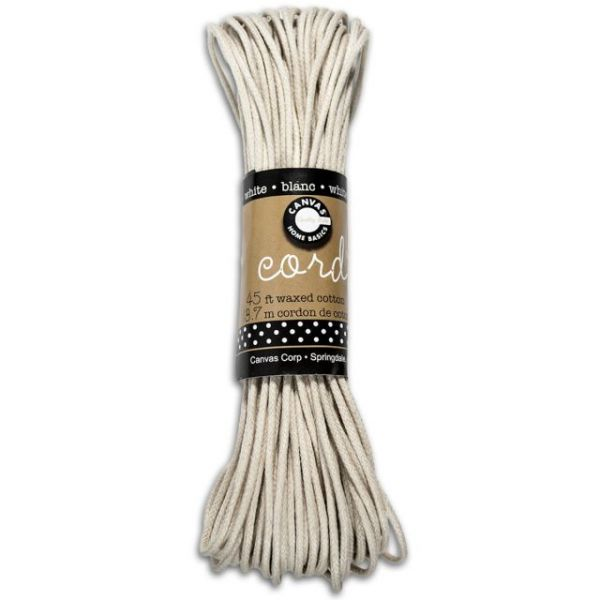 Jute Waxed Cotton Cord
