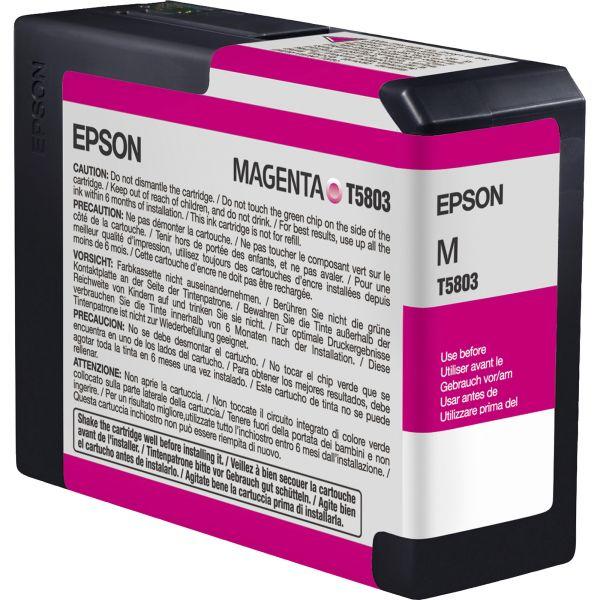 Epson T5803 Magenta Ink Cartridge