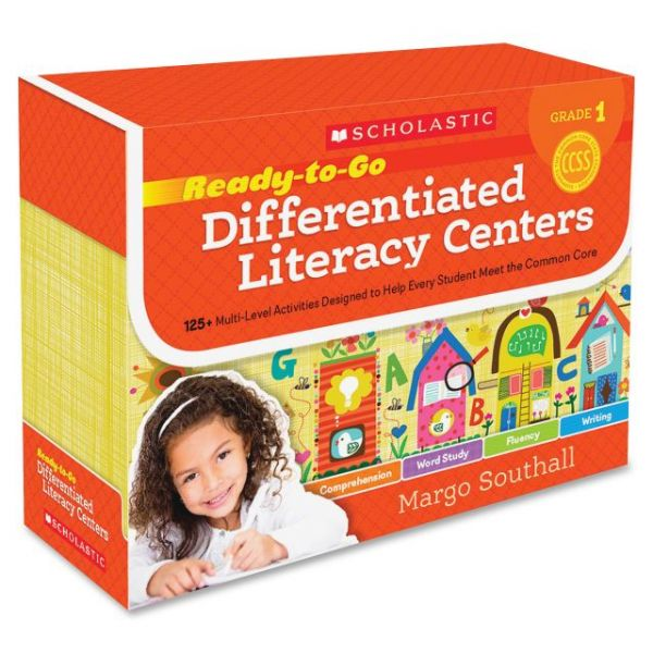 Scholastic Res. Rdy-To-Go Grd 1 Diff. Litracy Cntr
