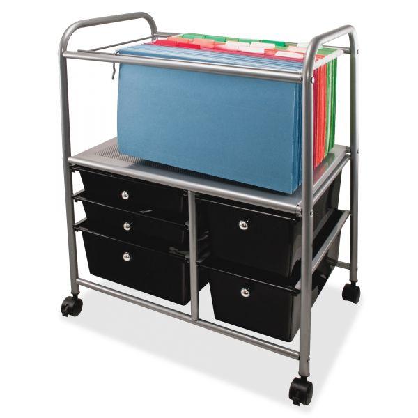 Advantus Letter/Legal Mobile File Cart