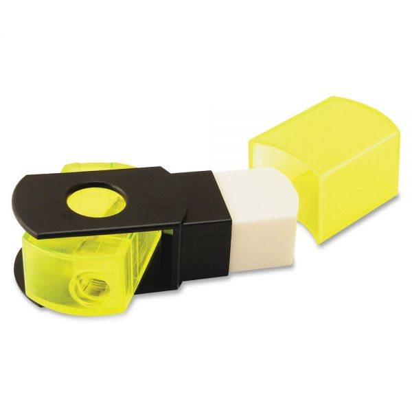 Eisen Pencil Grip Sharpener/Eraser Combo
