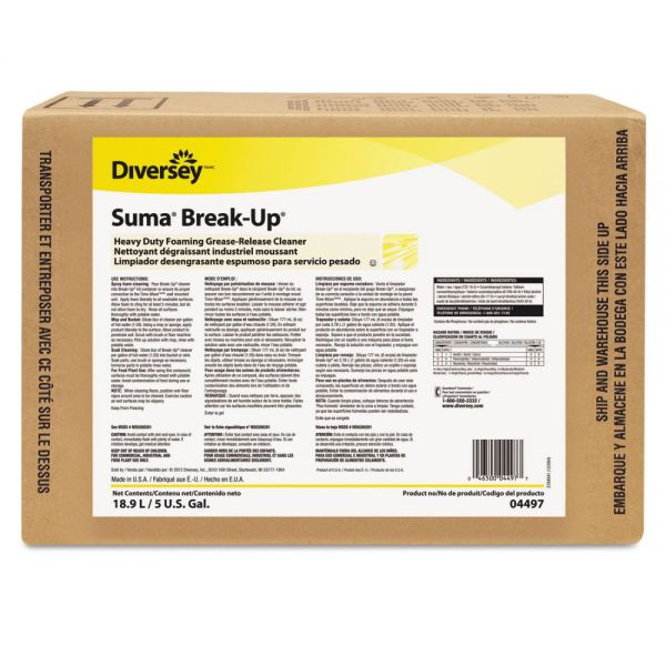 Suma Break-Up Heavy Duty Foaming Grease-Release Cleaner
