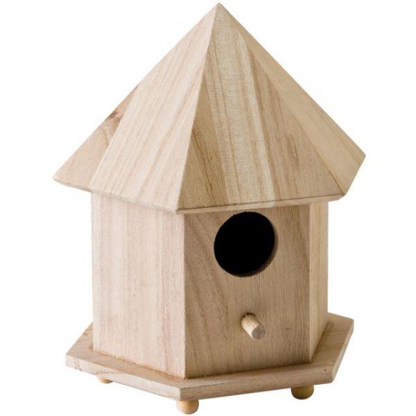 Wood Gazebo Birdhouse