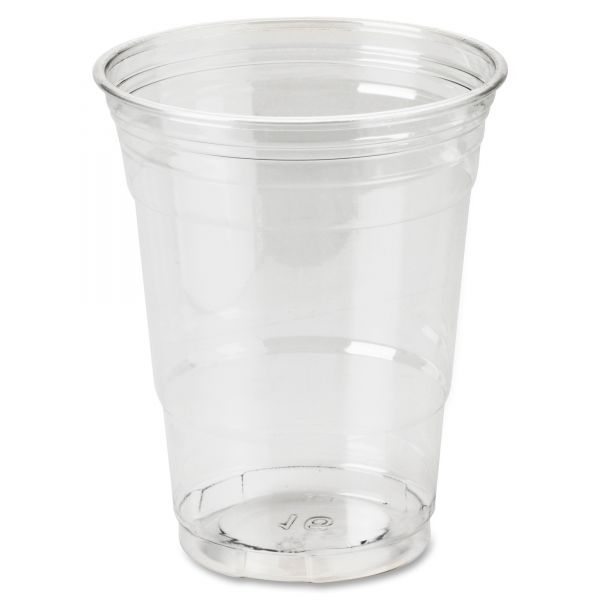 Dixie Crystal Clear 16 oz Plastic Cups
