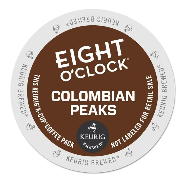 Eight O'Clock 100% Colombian Coffee K-Cups