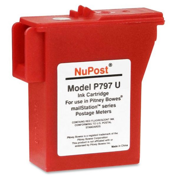 Pitney Bowes NPTK700 Red Ink Cartridge