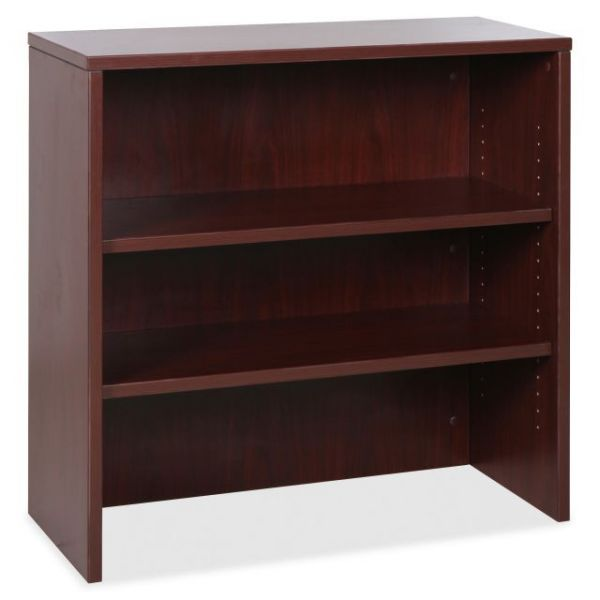 Lorell Essentials Series 3-Shelf Bookcase