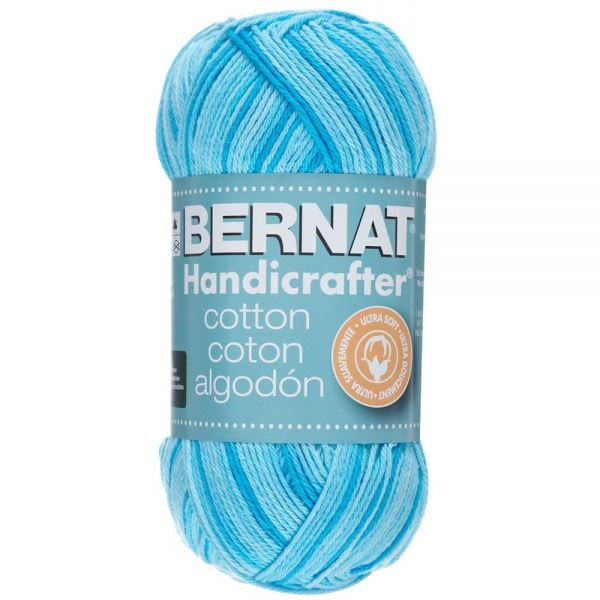 Bernat Handicrafter Cotton Yarn (340 Grams) - Swimming Pool