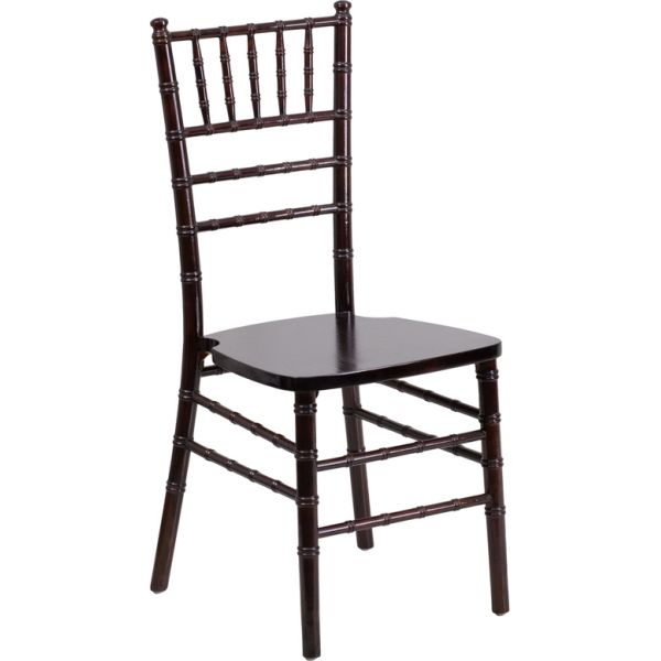 Flash Furniture Walnut Chiavari Chair