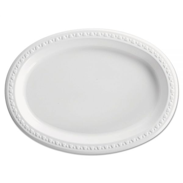 Chinet Heavyweight Plastic Platters