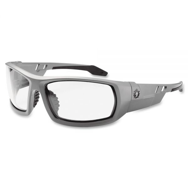 Ergodyne Clear Lens/Gray Frame Safety Glasses