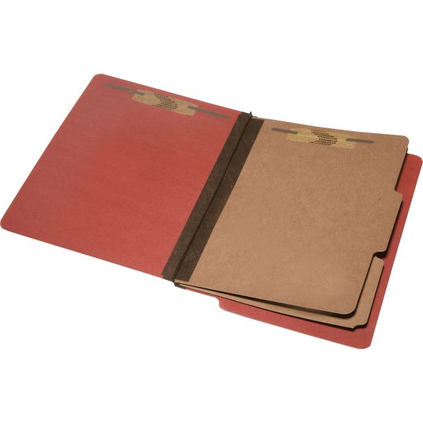 SKILCRAFT 6-Part End Tab Classification Folders