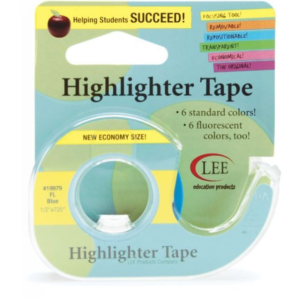"Fluorescent Highlighter Tape .5""X720"""