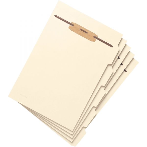 Smead 35605 Manila Folder Dividers with Fastener