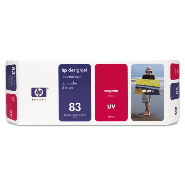 HP 83 UV Black Ink Cartridge (C4940A)