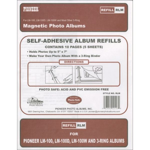Pioneer Magnetic Photo Album Refill Pages