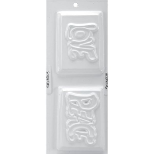 "Soapsations Soap Mold 4""X9"""