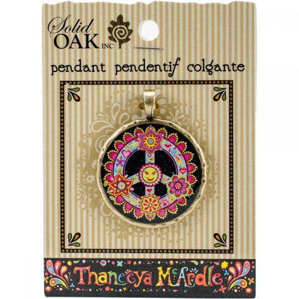 Thaneeya(R) LLC Acrylic Round Pendant 1/Pkg