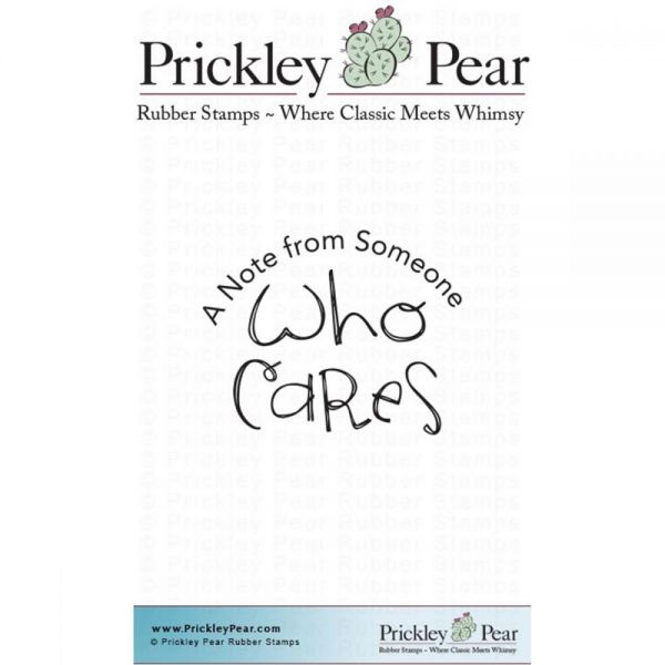 "Prickley Pear Cling Stamps 1.25""x1.75"""