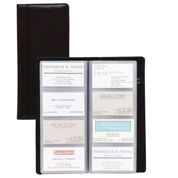 Samsill Regal Leather Business Card Holders