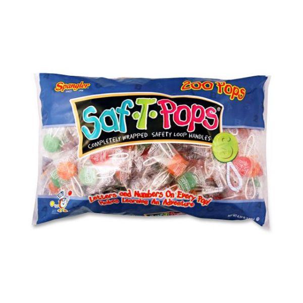 Saf-T-Pops Wrapped Lollipops (4.5 lbs)