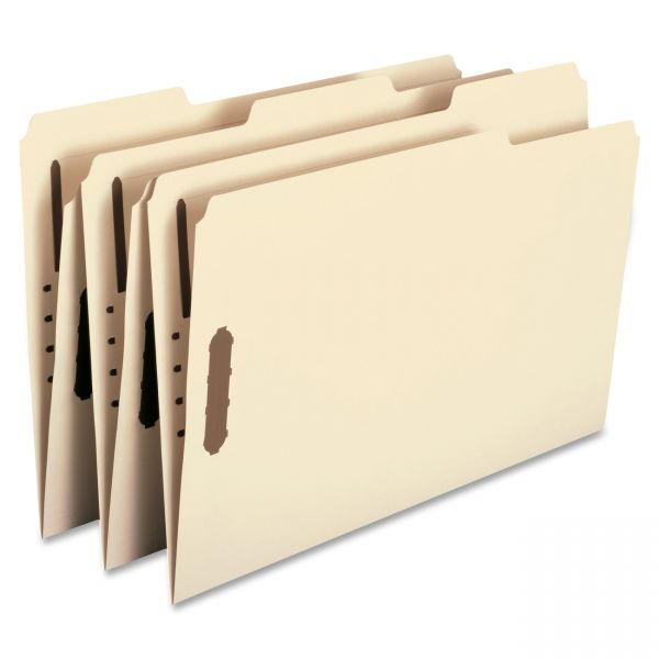 Smead 100% Recycled File Folders With Fasteners