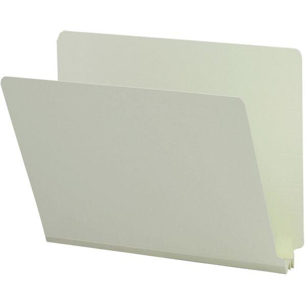 Smead Letter Size End Tab Pressboard File Folders