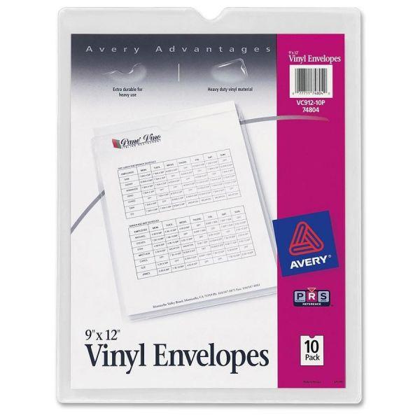 Avery Vinyl Envelopes