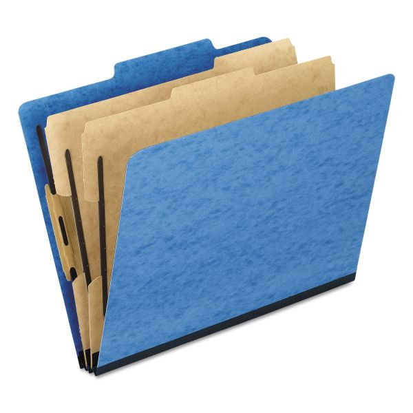 Oxford Pressguard Light Blue Classification Folders
