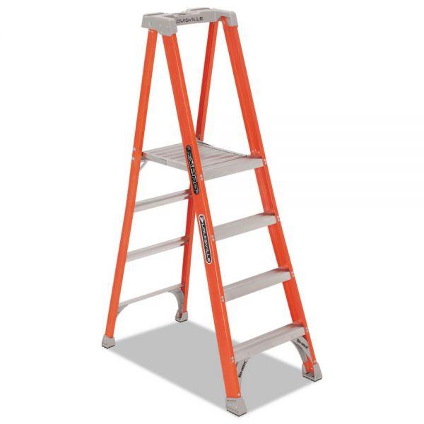 Louisville Fiberglass Pro Platform Step Ladder