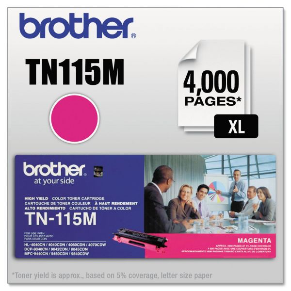 Brother TN115M High Yield Toner Cartridge