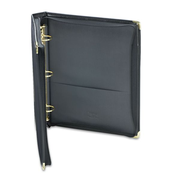 Samsill Classic Collection Zippered Ring Binder, 11 X 8 1