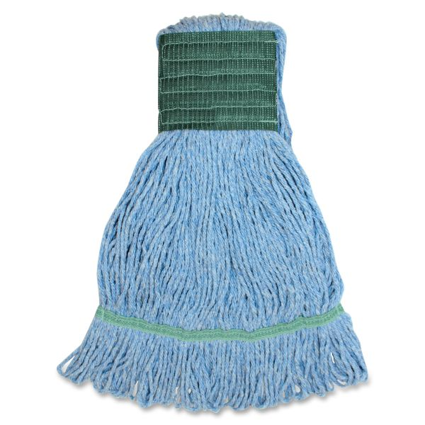 Genuine Joe Synthetic Blend Medium Mop Head