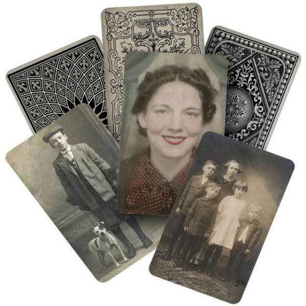 "Idea-Ology Found Relatives Cards 3""X5"" 24/Pkg"