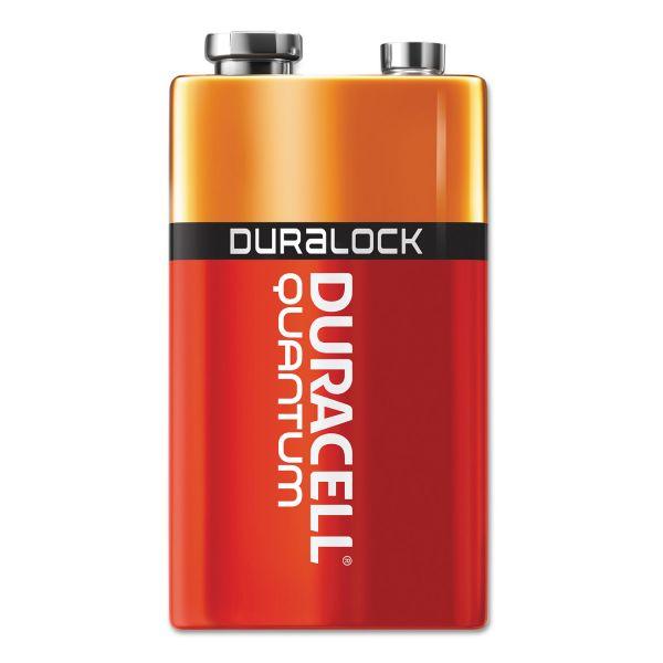 Duracell Quantum 9 Volt Batteries with Duralock Power Preserve Technology